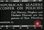 Image of Senator Warren G Harding Marion Ohio USA, 1920, second 3 stock footage video 65675030508