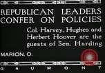 Image of Senator Warren G Harding Marion Ohio USA, 1920, second 5 stock footage video 65675030508