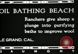 Image of hot oil bath Le Grand California USA, 1920, second 1 stock footage video 65675030512
