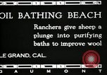 Image of hot oil bath Le Grand California USA, 1920, second 3 stock footage video 65675030512