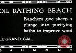 Image of hot oil bath Le Grand California USA, 1920, second 5 stock footage video 65675030512
