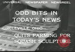 Image of farmers quieting farming United States USA, 1932, second 8 stock footage video 65675030532