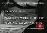 Image of protest against Zone Law Glen Ridge New Jersey USA, 1932, second 1 stock footage video 65675030534