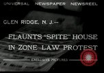 Image of protest against Zone Law Glen Ridge New Jersey USA, 1932, second 3 stock footage video 65675030534