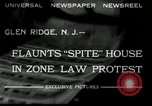 Image of protest against Zone Law Glen Ridge New Jersey USA, 1932, second 4 stock footage video 65675030534