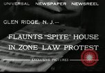 Image of protest against Zone Law Glen Ridge New Jersey USA, 1932, second 5 stock footage video 65675030534