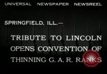 Image of Civil War Veterans Illinois United States USA, 1932, second 4 stock footage video 65675030535