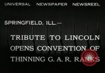 Image of Civil War Veterans Illinois United States USA, 1932, second 5 stock footage video 65675030535