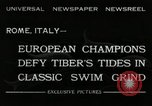 Image of water race Rome Italy, 1932, second 4 stock footage video 65675030536