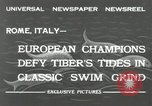 Image of water race Rome Italy, 1932, second 8 stock footage video 65675030536