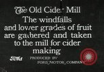 Image of cider making mill United States, 1916, second 1 stock footage video 65675030539