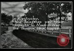 Image of Man O War Kentucky United States USA, 1924, second 11 stock footage video 65675030549