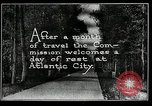 Image of Atlantic City beach Atlantic City New Jersey USA, 1924, second 6 stock footage video 65675030558