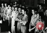 Image of Goodyear employees slogan Akron Ohio USA, 1941, second 8 stock footage video 65675030572