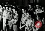 Image of Goodyear employees slogan Akron Ohio USA, 1941, second 12 stock footage video 65675030572