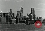 Image of Manhattan and UN Headquarters construction Manhattan New York City USA, 1948, second 4 stock footage video 65675030574