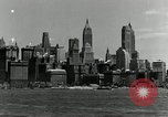 Image of Manhattan and UN Headquarters construction Manhattan New York City USA, 1948, second 7 stock footage video 65675030574