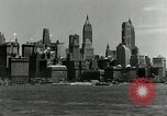 Image of Manhattan and UN Headquarters construction Manhattan New York City USA, 1948, second 8 stock footage video 65675030574