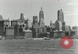 Image of Manhattan and UN Headquarters construction Manhattan New York City USA, 1948, second 9 stock footage video 65675030574