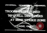 Image of coal mines strike Cadiz Ohio USA, 1932, second 1 stock footage video 65675030576