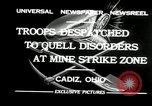 Image of coal mines strike Cadiz Ohio USA, 1932, second 8 stock footage video 65675030576