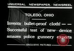 Image of bullet proof cloth test Toledo Ohio USA, 1932, second 9 stock footage video 65675030579