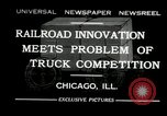 Image of automobile delivery by trains Chicago Illinois USA, 1932, second 1 stock footage video 65675030580