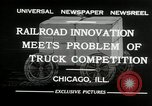 Image of automobile delivery by trains Chicago Illinois USA, 1932, second 7 stock footage video 65675030580