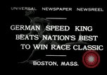 Image of marathon race Boston Massachusetts USA, 1932, second 1 stock footage video 65675030581