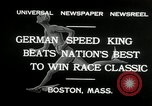 Image of marathon race Boston Massachusetts USA, 1932, second 4 stock footage video 65675030581