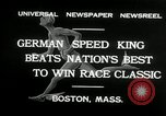 Image of marathon race Boston Massachusetts USA, 1932, second 7 stock footage video 65675030581