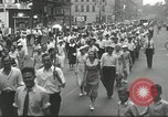 Image of Union workers rally Toledo Ohio USA, 1934, second 9 stock footage video 65675030588