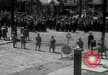 Image of auto employees on strike Toledo Ohio USA, 1934, second 2 stock footage video 65675030597