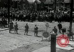 Image of auto employees on strike Toledo Ohio USA, 1934, second 5 stock footage video 65675030597
