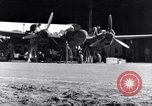 Image of P-38 plane propeller assembly Australia, 1942, second 3 stock footage video 65675030614