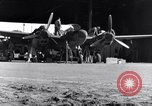 Image of P-38 plane propeller assembly Australia, 1942, second 9 stock footage video 65675030614