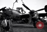 Image of Native tribesmen with P-38 planes New Guinea, 1944, second 2 stock footage video 65675030622