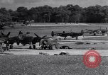 Image of P-38 plane Nuthampstead England, 1943, second 2 stock footage video 65675030628