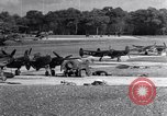 Image of P-38 plane Nuthampstead England, 1943, second 5 stock footage video 65675030628