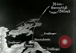 Image of missile trajectory Peenemunde Germany, 1944, second 11 stock footage video 65675030632