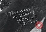 Image of President Harry S Truman Berlin Germany, 1945, second 5 stock footage video 65675030665