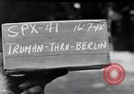 Image of President Harry S Truman Berlin Germany, 1945, second 3 stock footage video 65675030667