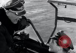 Image of ME-262 aircraft cockpit instruction Germany, 1944, second 4 stock footage video 65675030705