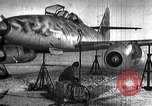 Image of ME-262 aircraft landing gear Germany, 1943, second 1 stock footage video 65675030710