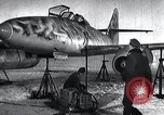 Image of ME-262 aircraft landing gear Germany, 1943, second 2 stock footage video 65675030710