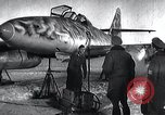 Image of ME-262 aircraft landing gear Germany, 1943, second 3 stock footage video 65675030710
