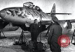 Image of ME-262 aircraft landing gear Germany, 1943, second 5 stock footage video 65675030710