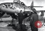 Image of ME-262 aircraft landing gear Germany, 1943, second 6 stock footage video 65675030710