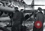 Image of ME-262 aircraft landing gear Germany, 1943, second 8 stock footage video 65675030710