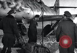 Image of ME-262 aircraft landing gear Germany, 1943, second 9 stock footage video 65675030710